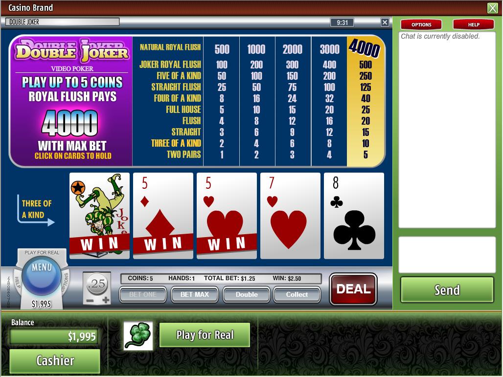 Vanguard casino review