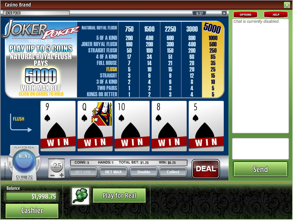 safest online casino joker poker