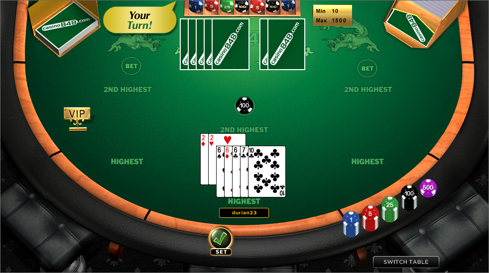 play pai gow poker online