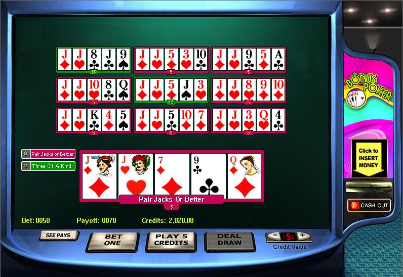 Poker energy