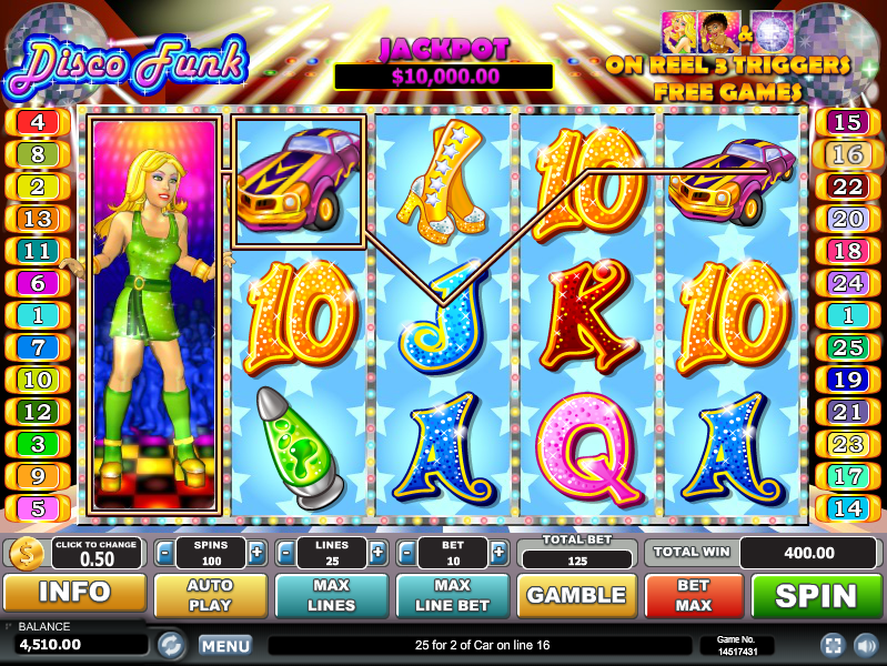 Disco Funk Slot Machine Online ᐈ Habanero™ Casino Slots