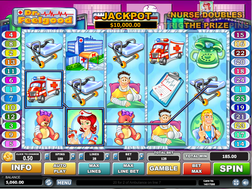 Dr Feelgood Slot Machine Online ᐈ Habanero™ Casino Slots