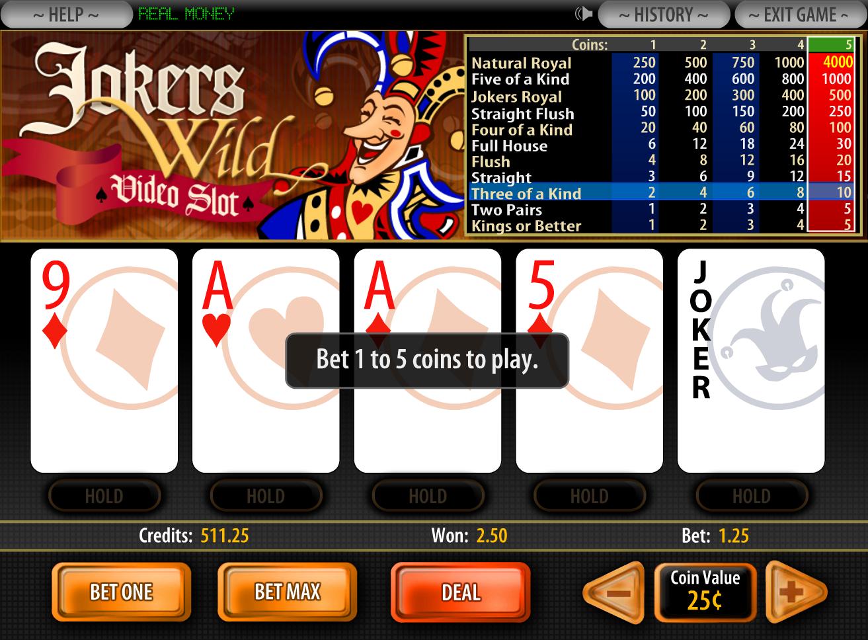 Jokers wild poker run - Casino free games xbox live gold