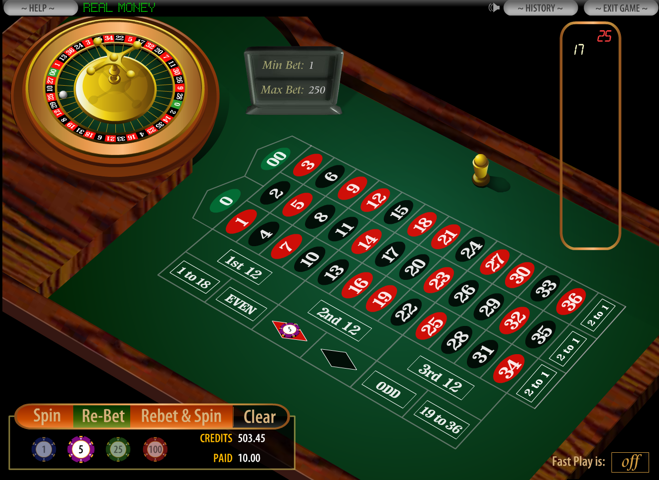 roulettes casino online the gaming wizard