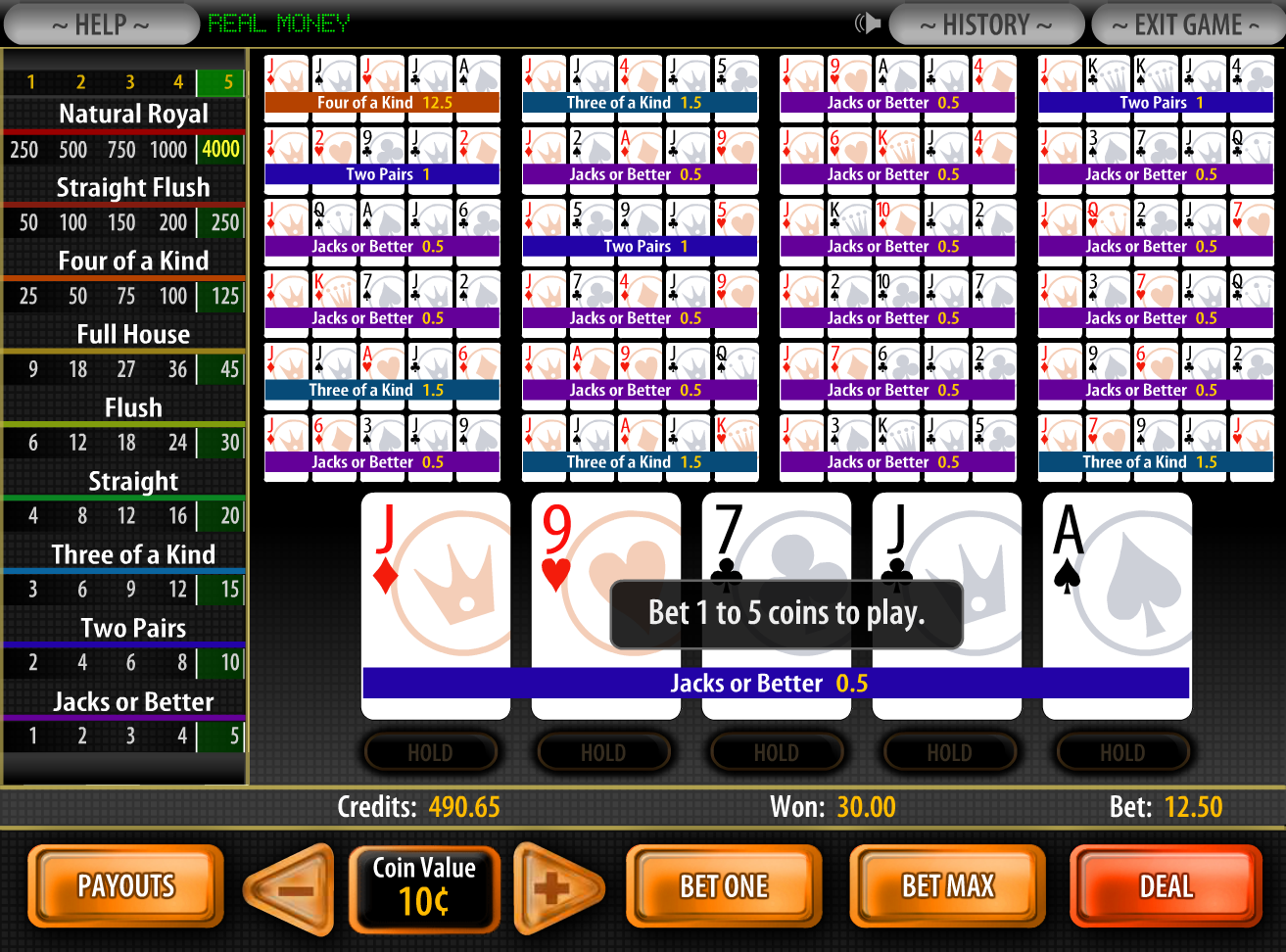online bookmakers casino