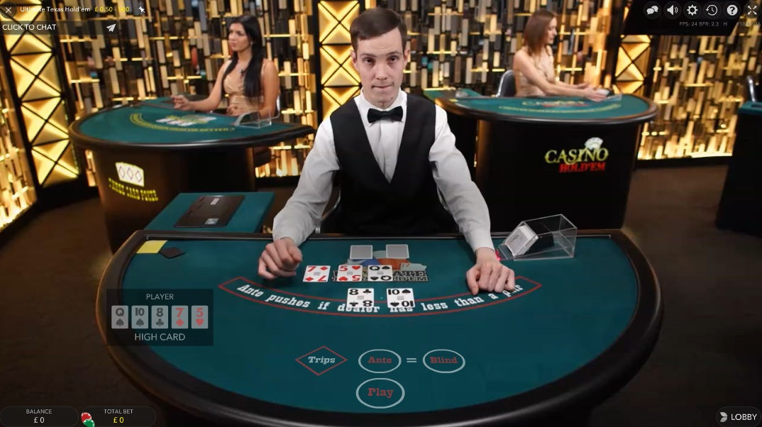 Casino odds ultimate texas holdem