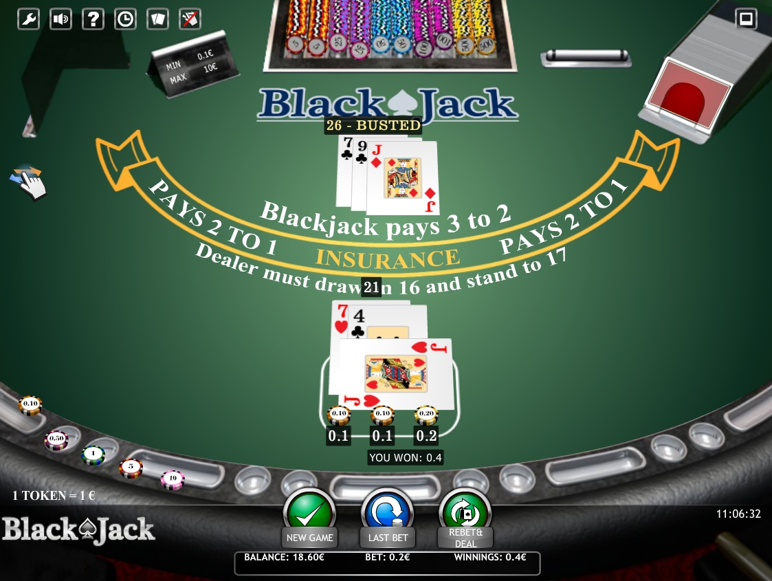 blackjack and