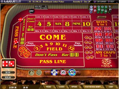 best online craps casino the gaming wizard