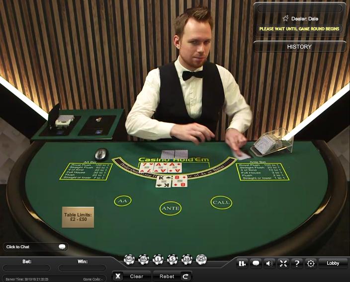 casino holdem by playtech online